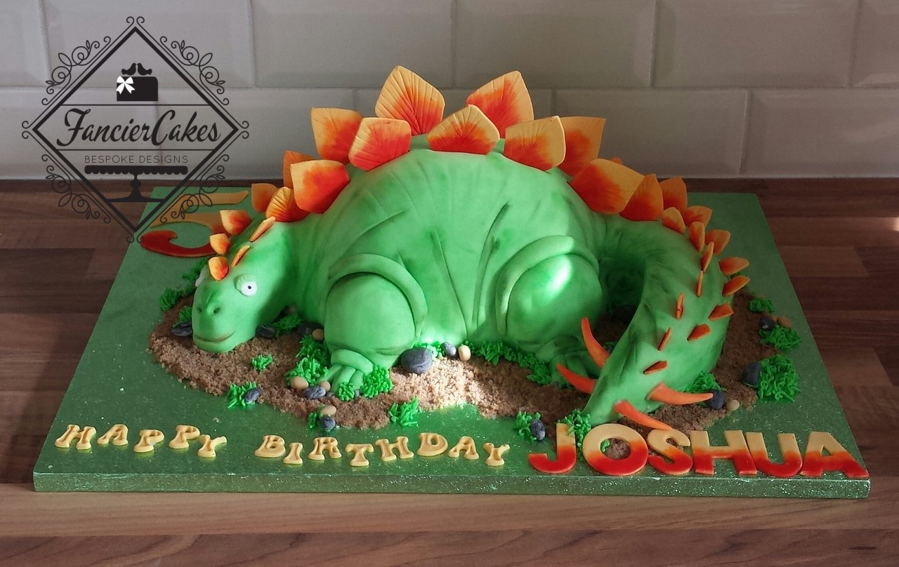 Handcrafted 3d dinosaur birthday cake fancier cakes for 3d printer cake decoration